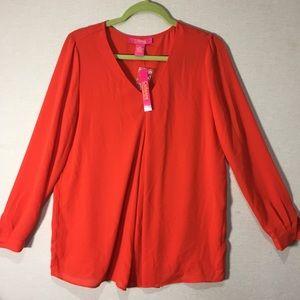 Catherine Roasted Pepper Lightweight Shirt Size M